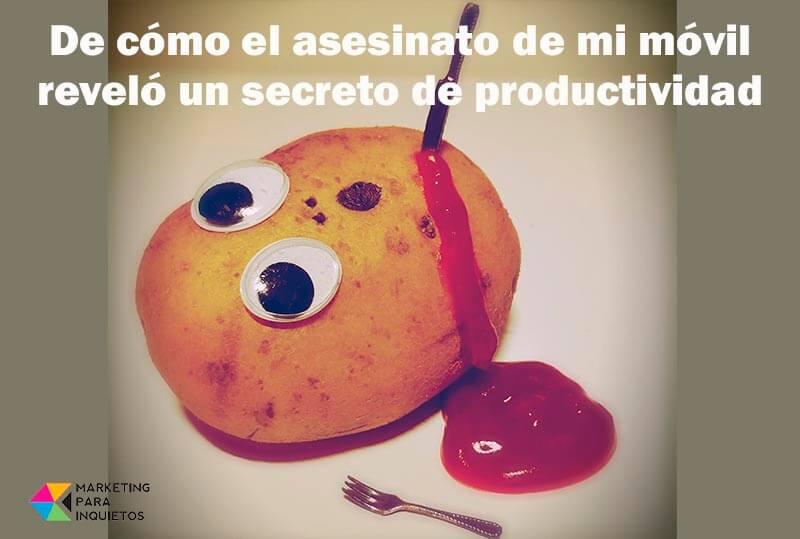 asesinato productividad